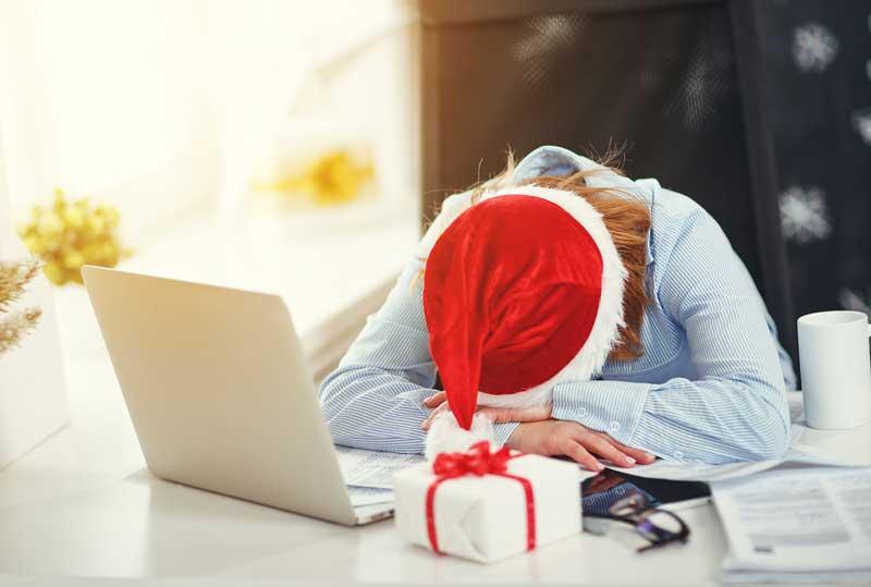 Combatir estrés navidad